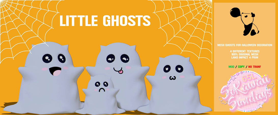 Bubble Gum Store - Little Ghosts