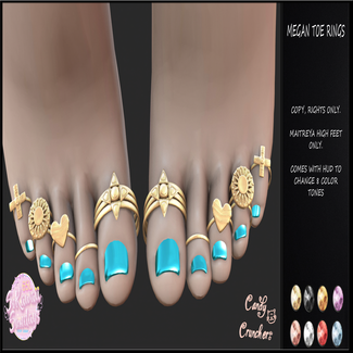 Candy Crunchers - Megan Toe Rings