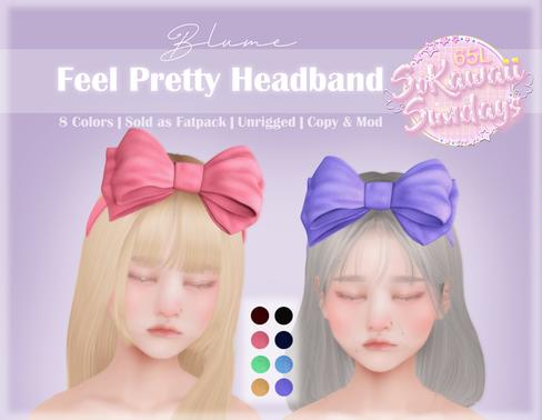 Blume - Feel Pretty Headband