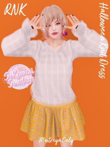 [RNK] - Halloween Knit Dress