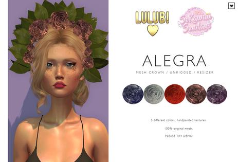 LuluB! - Alegra Crown