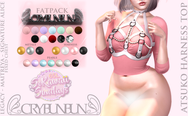 CryBunBun - Atsuko Harness Top Fatpack