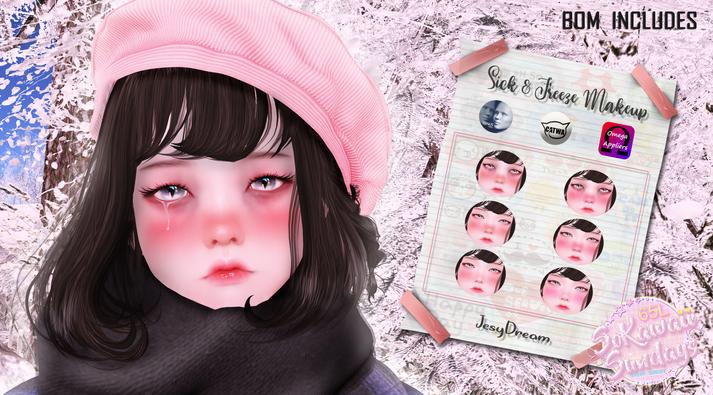 Jessydream - Sick & Freeze Makeup