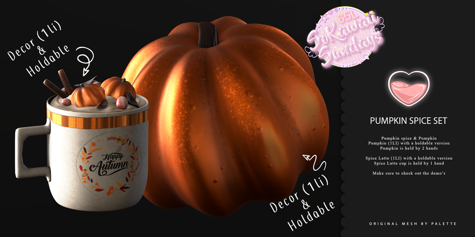 Palette - Pumpkin Spice Set