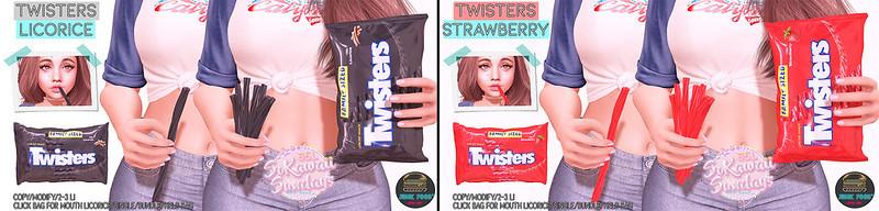 Junk Food - Twisters