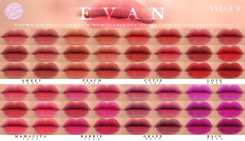 Velour - Evan HD Lips