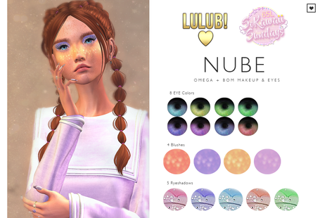 LuluB! - Nube Makeup Set
