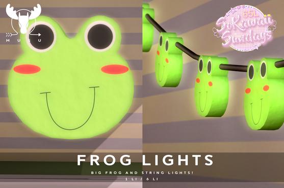 MUSU - Frog Lights