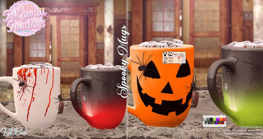 KitCat - Spooky Mugs
