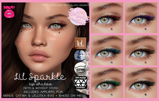 [POUT!] - Lil Sparkle Eyeshadow