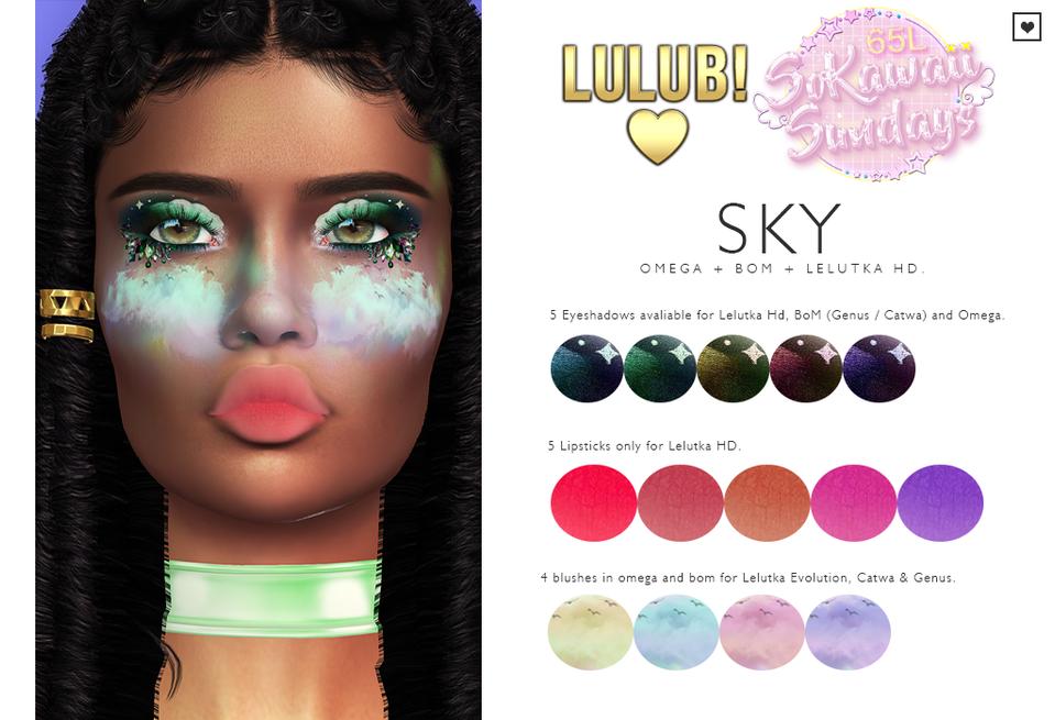 LuluB! - Sky Makeup