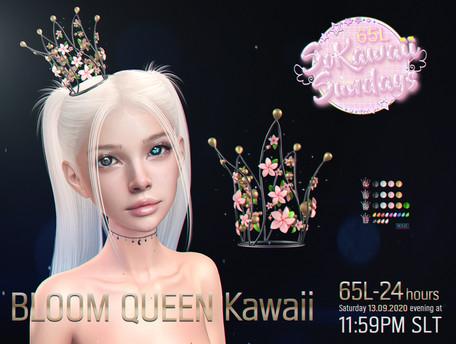 Moon Rabbit - Bloom Queen Kawaii Crown