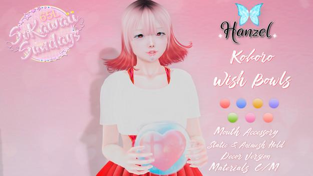 Hanzel Kokoro Wish Bowls
