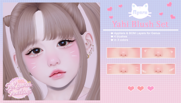 Nyaru - Yahi Blush Set