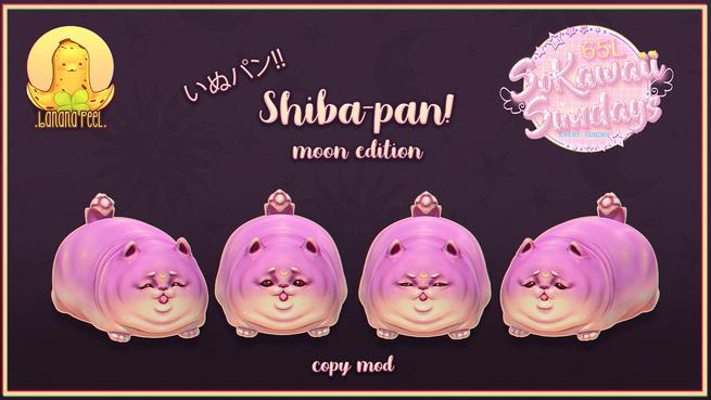 .banana peel. - Shiba-pan Moon Edition