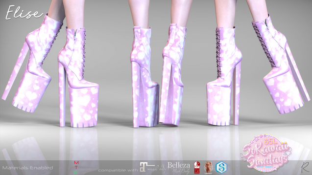 Remezzo - Elise Boots Pink