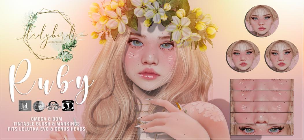 Ladybird - Ruby Blush & Markings
