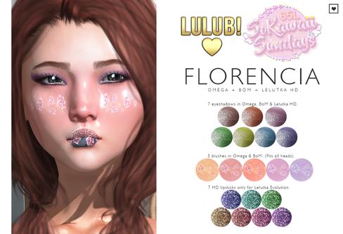 LuluB! - Florencia Makeup Set