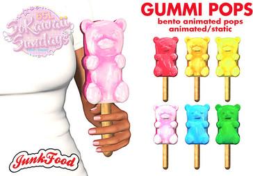 Junk Food - Gummi Pops