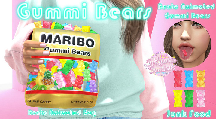 Junk Food - Gummi Bears