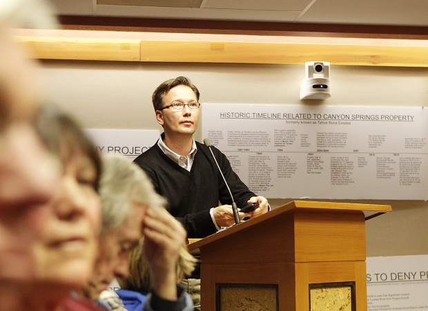 Canyon Springs Public Hearing