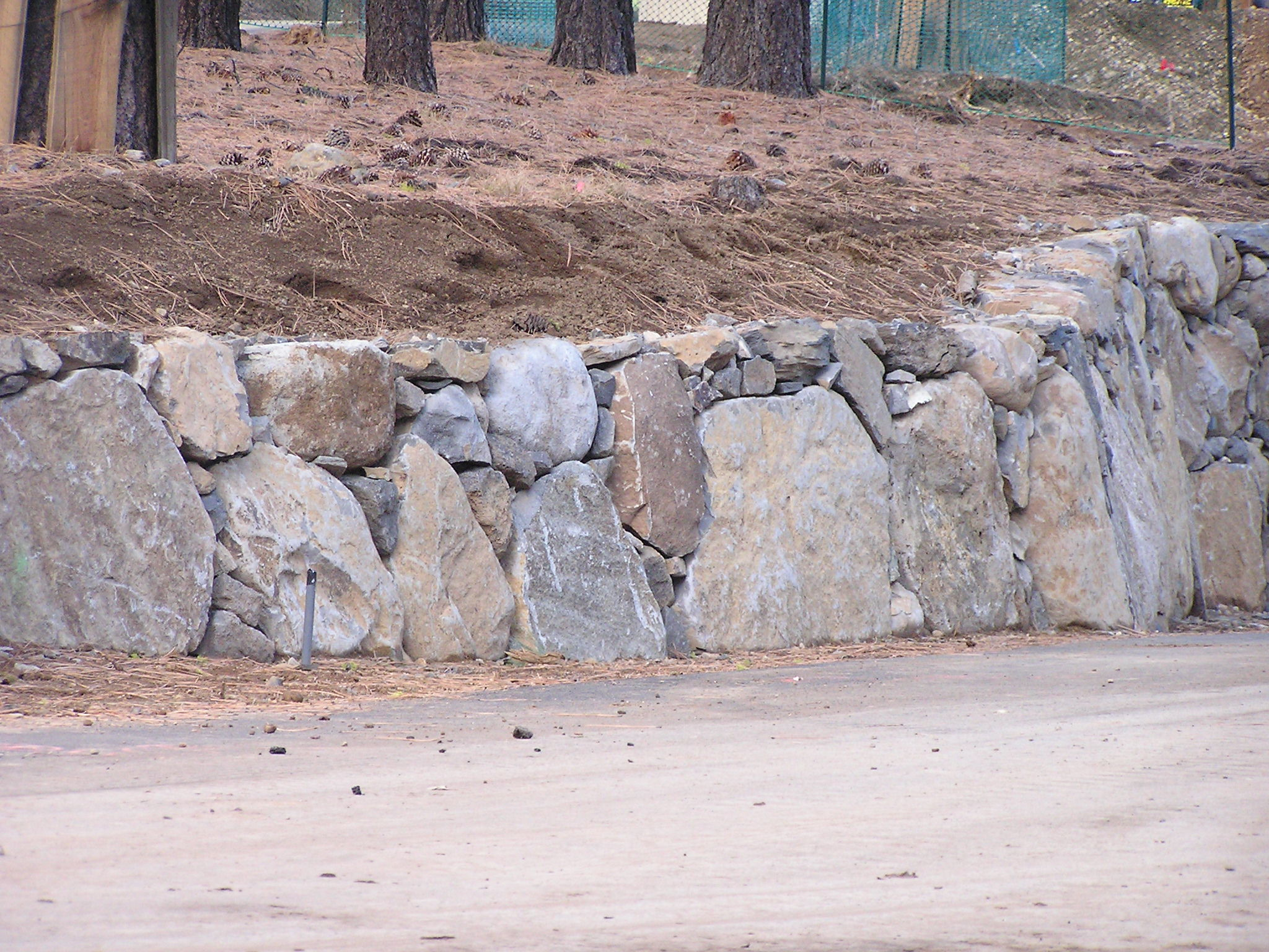 Gray's Crossing Retaining Wall