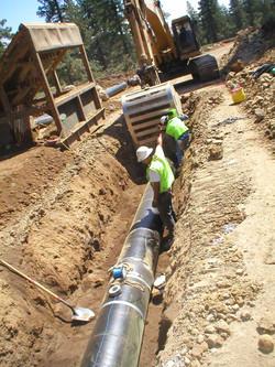 Gray's Crossing Utility Installation