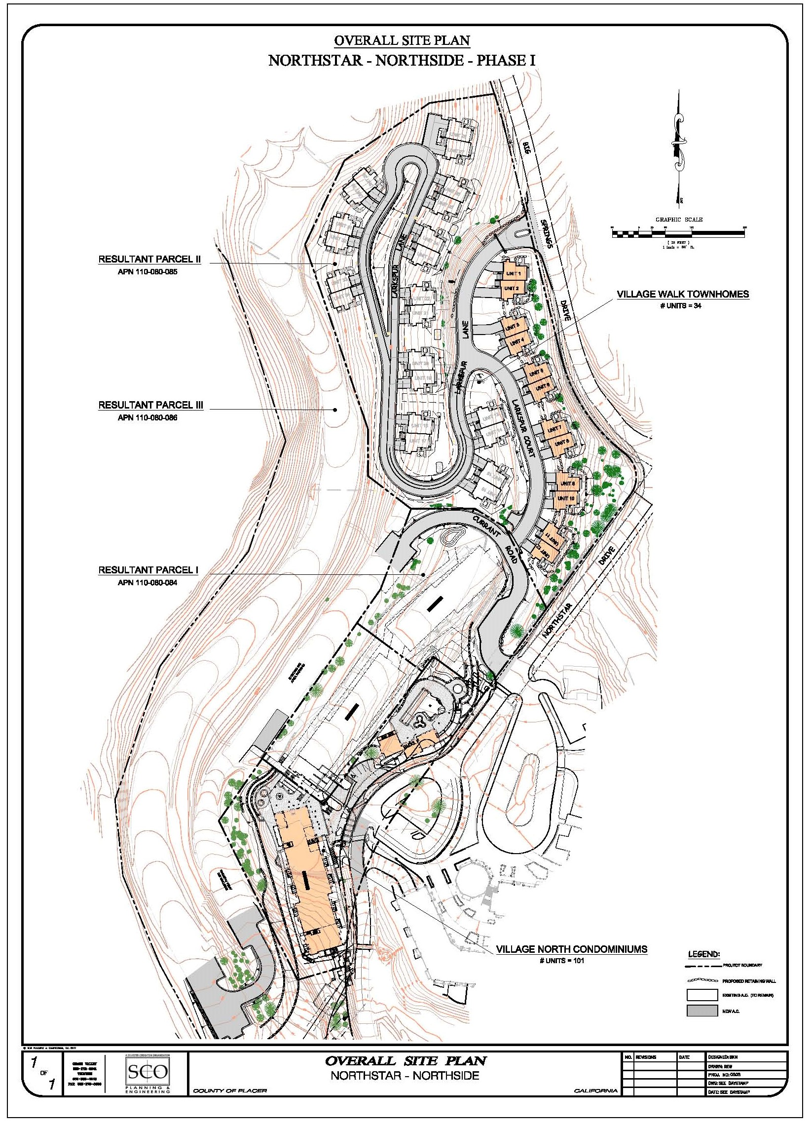 Northside Phase 1 Overall Site Plan