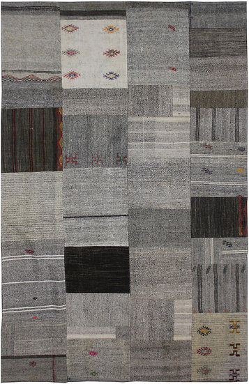 Hand Knotted Antique Patchwork Kilim