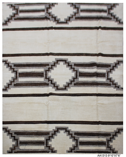 "Hand Knotted Navajo Rug -7'6"" x 9'10"""