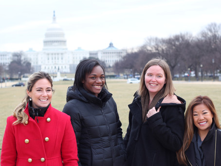 Athletes, Women's Rights Activists Gather on Capitol Hill to Advocate for Girls and Women in Sports