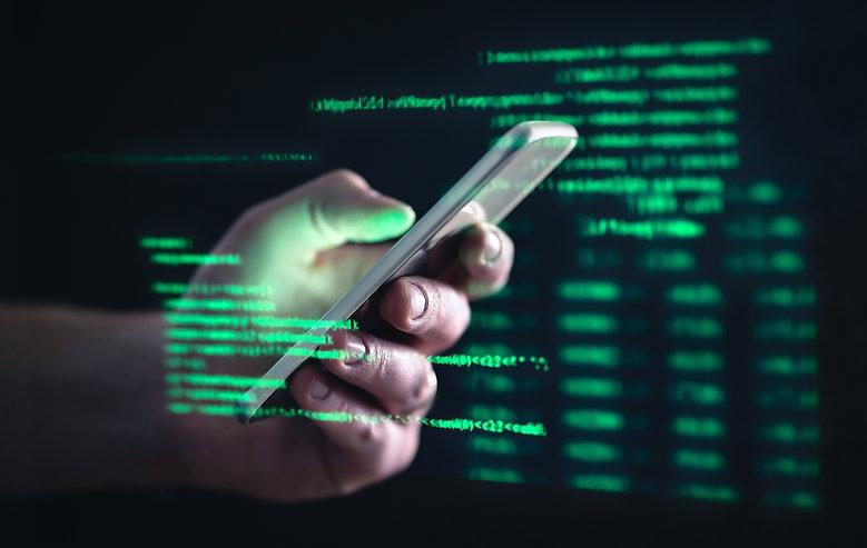 Darkweb, darknet and hacking concept. Ha