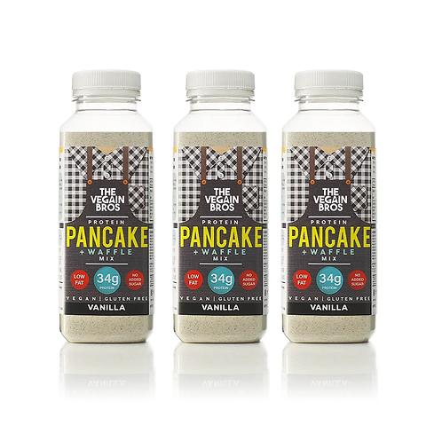 3 x GF Vegan Vanilla Pancake + Waffle Mix