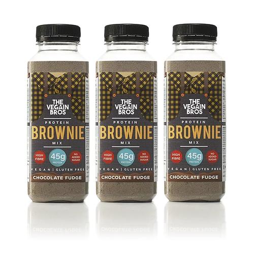 3 x GF Fudgy Chocolate Protein Brownie Mix Bundle