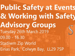 Public Safety at Events & Working with Safety Advisory Groups