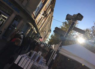 Christmas market goers kept informed