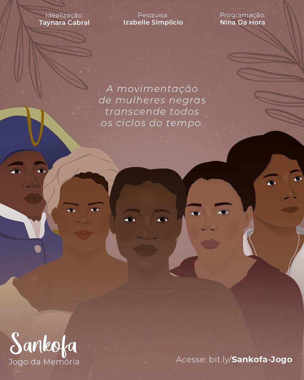 Jogo da Memória Sankofa - Online