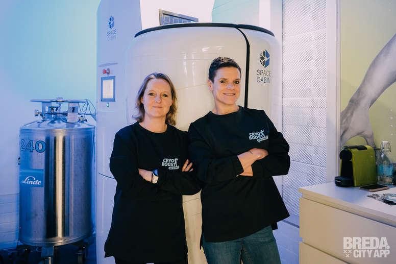 CryoBoost Breda   Sandra en Wendie