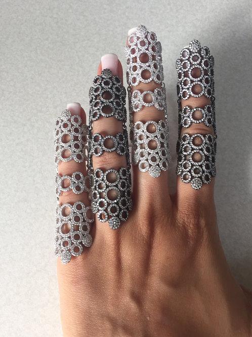 Jenna Full Finger Circle Ring