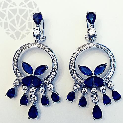 Butterfly Chandalier Earrings