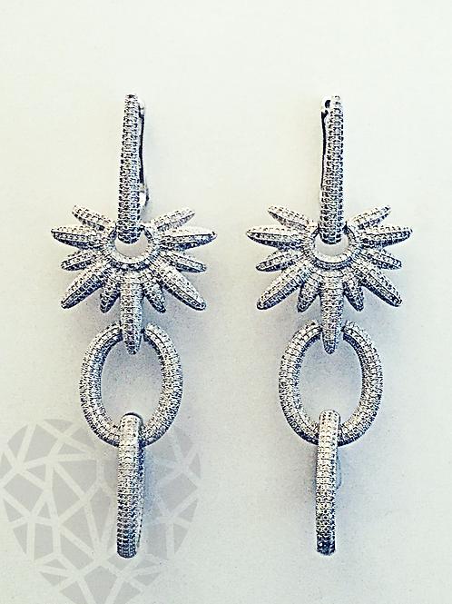 Willow Long Chandalier Earrings