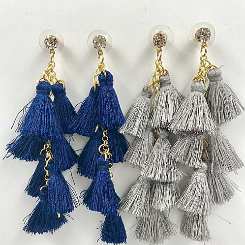 Fringe Dangle Earrings