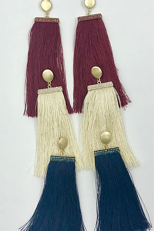 Charlotte Fringe Earrings