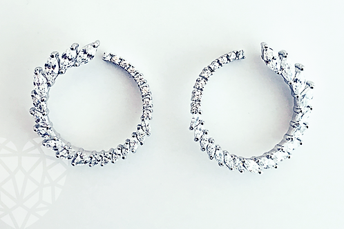Jenna Circle Earrings