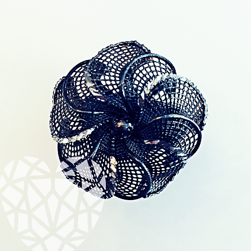 Spring Lace Flower Ring