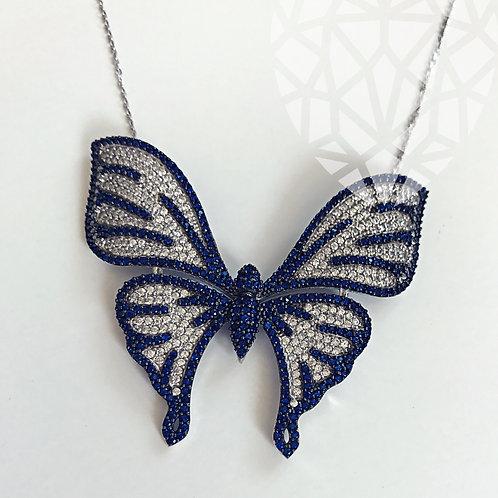 Liza Butterfly Necklace