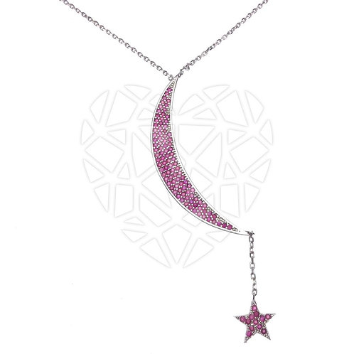 The Star and The Moon Necklace