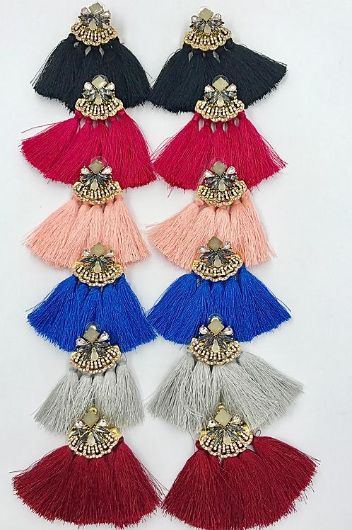 Glam Tassel Earrings