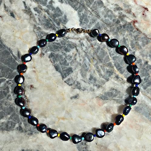 Blake Natural Pearl Necklace