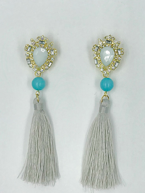 Glam Fringe Earrings